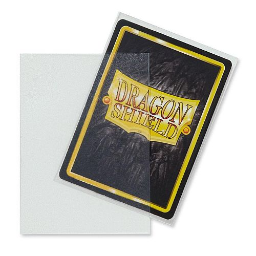 Dragon Shield Deck Protectors - Matte Clear (Gennemsigtig) - 100 lommer - Dragonshield - Sleeves #AT-11001