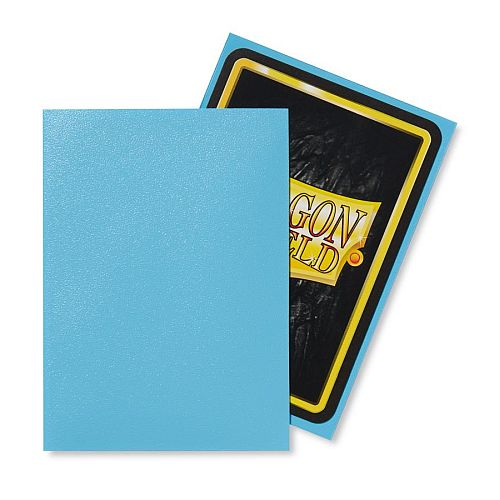 Dragon Shield Deck Protectors - Matte Baby Blue - 100 lommer - Dragonshield - Sleeves #AT-11032-LIM