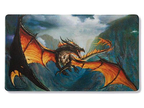 Spillemåtte (Playmat) - Dragon Shield: Black - Amina, Obsidian Queen #AT-22302-LIM *Limited Edition*