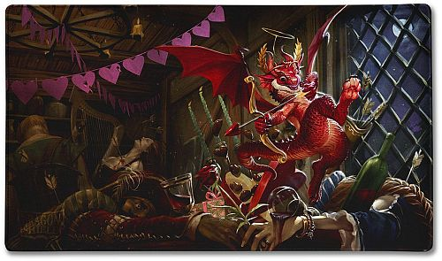Spillemåtte (Playmat) - Dragon Shield: Valentine Dragon 2020 #LIM-AT-22547 *Limited Edition*