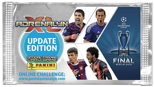 Champions League 2014/2015 Update Edition - Booster Pakke - Fodbold Kort Adrenalyn XL Booster Pack *Udsalg*
