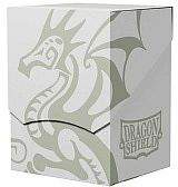 Dragon Shield: Deck Shell - White/Black - Dragonshield - AT-30705