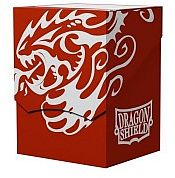 Dragon Shield: Deck Shell - Red/Black - Dragonshield - AT-30707