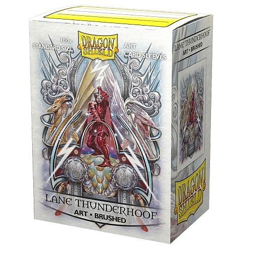 Dragon Shield Deck Protectors - Brushed Art Sleeves: Lane Thunderhoof Coat - 100 lommer - Dragonshield - Sleeves #AT-12042