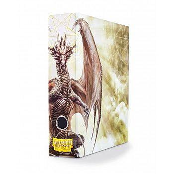 Dragon Shield - Slipcase Binder (Album/Ringbind) - White: Procul the Arcane  Pillar - Dragonshield #AT-33505 *Sjælden*