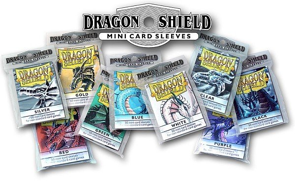 Dragon Shield Small/Japanese Size Deck Protectors - Classic Clear (Gennemsigtig) - 50 lommer - Dragonshield - Sleeves #AT-10101
