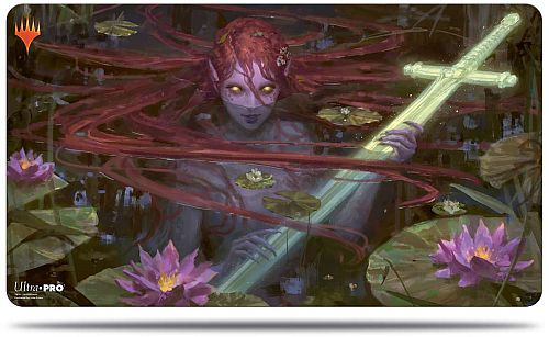 Magic Spillemåtte (Playmat) - Throne of Eldraine: V2 - Emry, Lurker of the Loch - Ultra Pro #18192