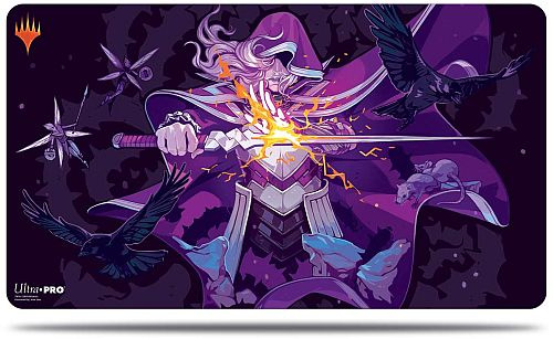 Magic Spillemåtte (Playmat) - Throne of Eldraine: V3 - Rowan Kenrith (Candy Cane) - Ultra Pro #18193
