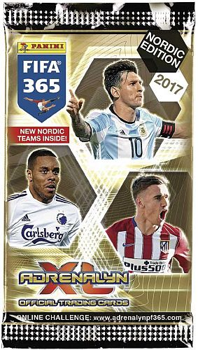 FIFA 365 2016-17 Nordic Edition - Booster Pakke - Fodboldkort Adrenalyn XL Booster Pack