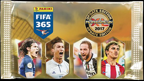 FIFA 365 2016-17 UPDATE Nordic Edition - Booster Pakke - Fodboldkort Adrenalyn XL Booster Pack