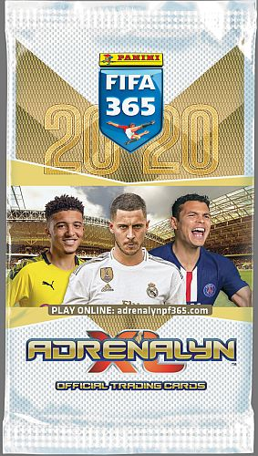 FIFA 365 2020 - Booster Pakke - Fodboldkort Adrenalyn XL Booster Pack