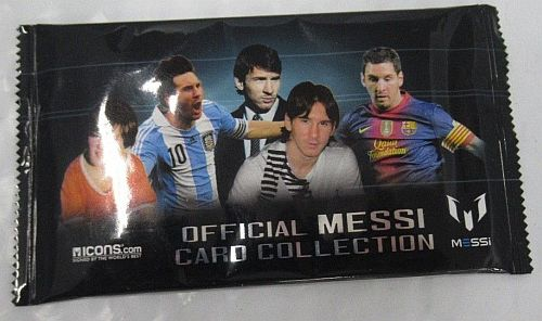 Official Messi Card Collection - Booster Pakke - Fodboldkort Booster Pack
