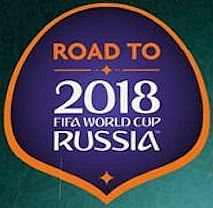 Road to World Cup 2018 Russia - Booster Display - 1 Box med 50 Booster Pakker - Fodboldkort