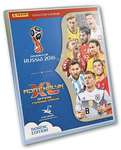 World Cup 2018 Russia (VM) Nordic Edition - Samlermappe (Binder) - Panini Adrenalyn XL