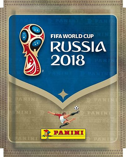 Fodbold-Stickers/Klistermærker: World Cup 2018 Russia (VM) - Booster Pack (5 Stickers)