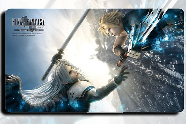 Spillemåtte (Playmat) - Final Fantasy TCG - Cloud Strife VS Sepiroth
