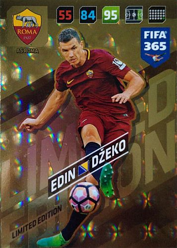 Adrenalyn FIFA 365 2018 Edin Dzeko, AS Roma