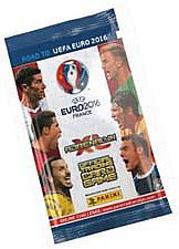 Road to UEFA Euro 2016 - Booster Display - 1 Box med 50 Booster Pakker - Fodboldkort
