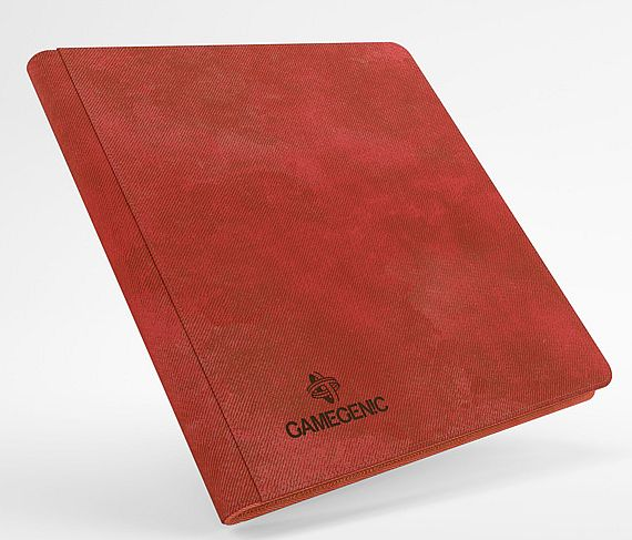 Gamegenic - Mappe: Zip-Up Album 24-Pocket (Holder 480 Kort) - Red (Rød)