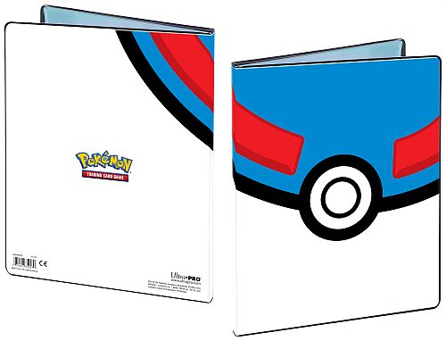 Mappe - Pokemon - Great Ball - Album - 9-Pocket (Holder 180 kort) UltraPro #85453