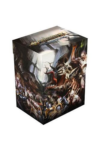 Ultimate Guard - Warhammer Age of Sigmar: Champions Basic Deck Case 80+ Standard Size Order vs. Death