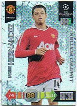 Javier Hernandez - UEFA Champions League 2010/2011 - Manchester United - Limited Edition!