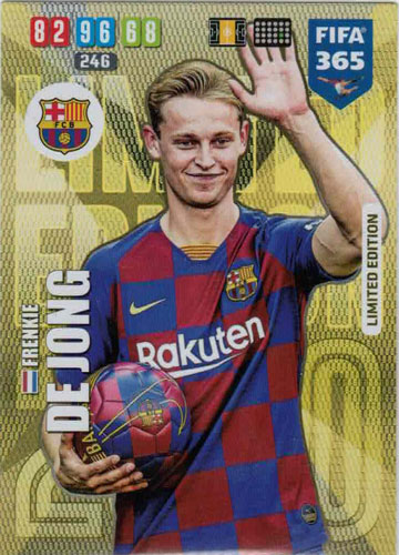 Adrenalyn XL FIFA 365 2020 - Frenkie de Jong (FC Barcelona)
