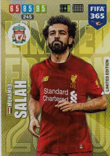 Adrenalyn XL FIFA 365 2020 - Mohamed Salah (Liverpool)