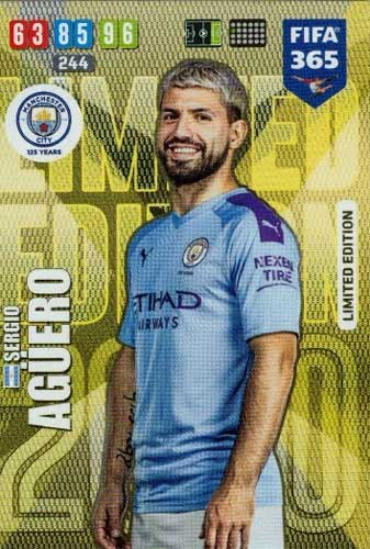 Adrenalyn XL FIFA 365 2020 - Sergio Agüero (Manchester City)