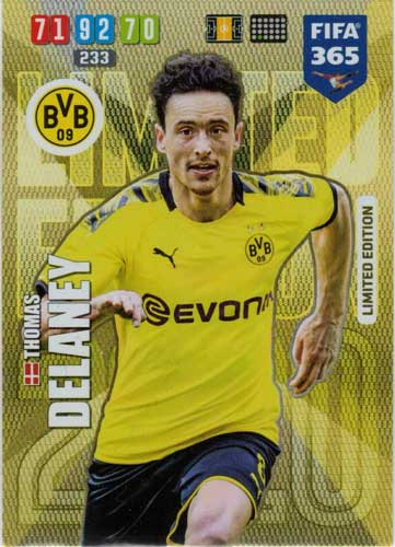 Adrenalyn XL FIFA 365 2020 - Thomas Delaney (Borussia Dortmund)