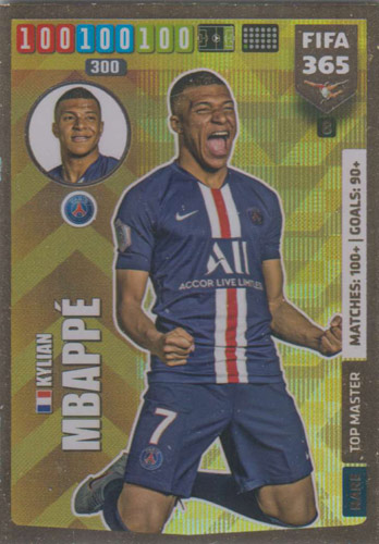 Adrenalyn XL FIFA 365 2020 - 008 Kylian Mbappé - Paris Saint-Gernain