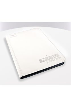 Ultimate Guard 9-Pocket ZipFolio (Mappe, 360 kort) XenoSkin (Læder) white (hvide)