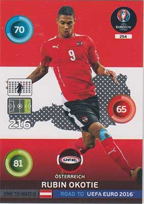 Adrenalyn Road to Euro 2016, AUT, Rubin Okotie
