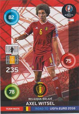 Adrenalyn Road to Euro 2016, BEL, Axel Witsel