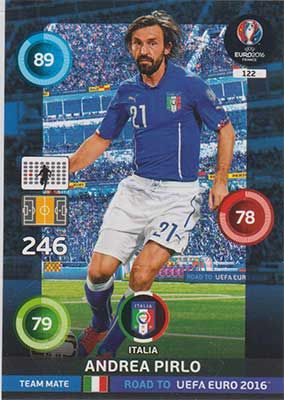 Adrenalyn Road to Euro 2016, ITA, Andrea Pirlo
