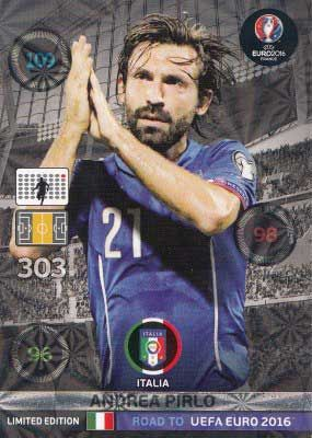 Adrenalyn Road to Euro 2016, Andrea Pirlo