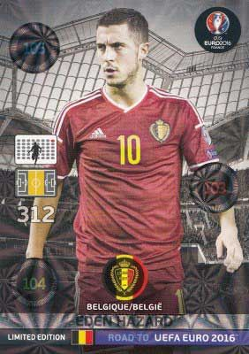 Adrenalyn Road to Euro 2016, Eden Hazard