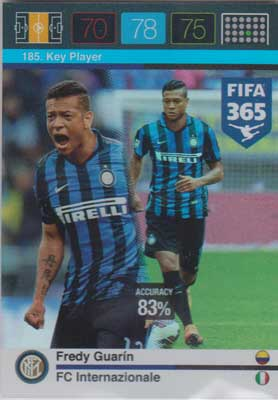 Adrenalyn FIFA 365 #185 Fredy Guarin