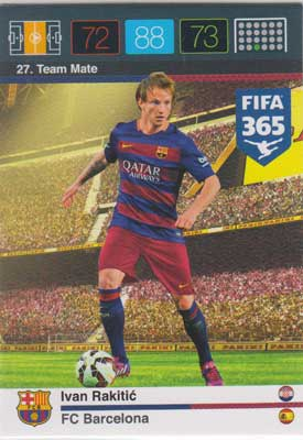Adrenalyn FIFA 365 #027 Ivan Rakitic