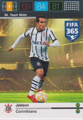 Adrenalyn FIFA 365 #056 Jadson