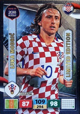 Panini Road To World Cup Russia 2018 Luka Modric - Croatia