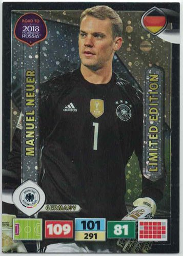 Panini Road To World Cup Russia 2018 Manuel Neuer - Germany