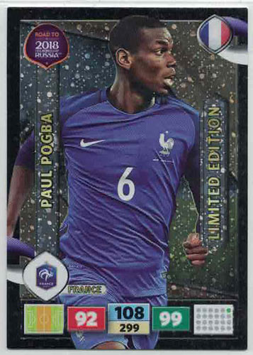 Panini Road To World Cup Russia 2018 Paul Pogba - France