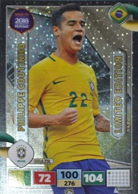 Panini Road To World Cup Russia 2018 Philippe Coutinho - Brazil