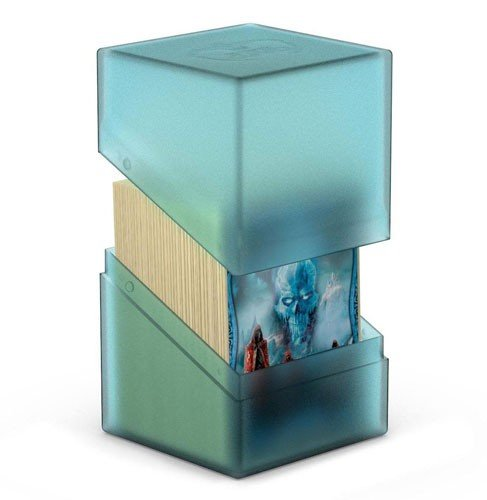 Ultimate Guard Boulder Deck Case (Deck Box) 100+ Standard Size Malachite