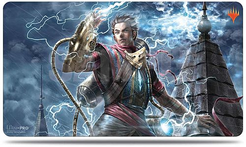 Magic Spillemåtte (Playmat) - War of the Spark: Japanese Alternate Art - Ral, Storm Conduit - Ultra Pro #18275
