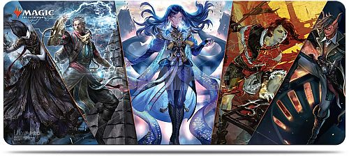 Magic Bord-Spillemåtte (6 ft Table Playmat) - War of the Spark: Japanese Alternate Art Planeswalkers V1 Ultra Pro #18205