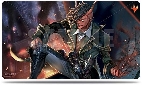 Magic Spillemåtte (Playmat) - War of the Spark: Japanese Alternate Art - Tibalt, Rakish Instigator - Ultra Pro #18274