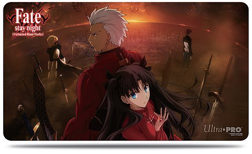 Spillemåtte (Playmat) - Fate/stay night: Unlimited Blade Works - Collection I: Rin & Archer - Ultra Pro #84721