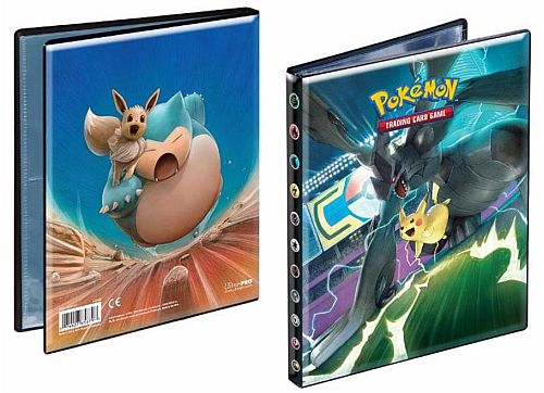 Mappe - Pokemon - SM9 Sun & Moon: Team Up - Album - 4-Pocket (Holder 80 kort) UltraPro #85879